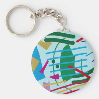 Tsunami Keychain