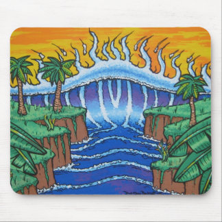 Tsunami Lunch Mouse Pad