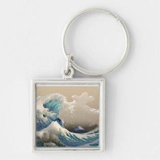 tsunami surf keychain