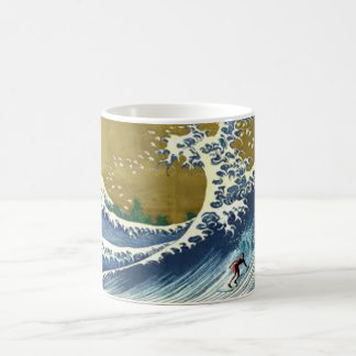 tsunami surf classic white coffee mug