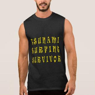 Tsunami Surfing Survivor Sleeveless Tee