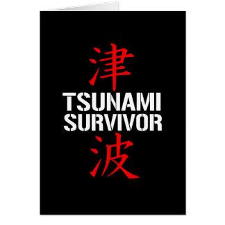TSUNAMI SURVIVOR CARDS
