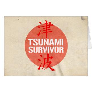 TSUNAMI SURVIVOR GREETING CARDS