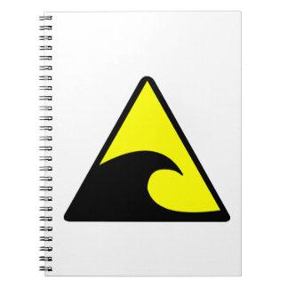 Tsunami Warning Notebook