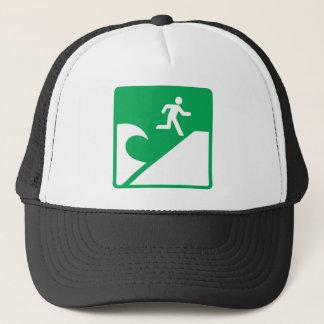 Tsunami Warning Trucker Hat
