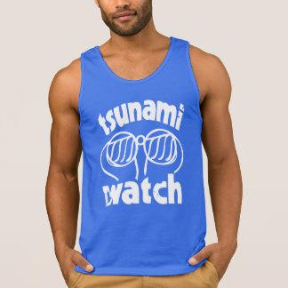 tsunami watch vest tank top