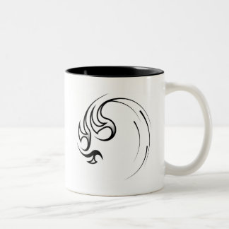 Tsunami Wave Two-Tone Coffee Mug