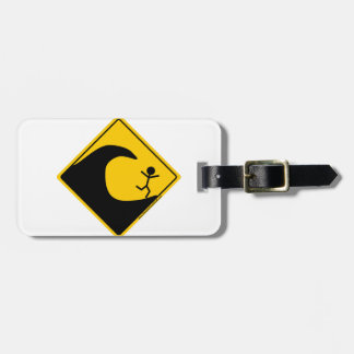Tsunami Weather Warning Merchandise and Clothing Travel Bag Tags