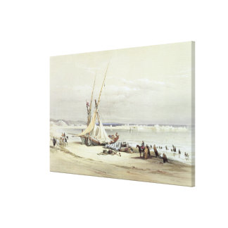 Tsur, ancient Tyre, April 27th 1839, plate 69 from Canvas Print