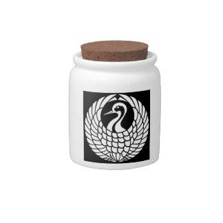 Tsuru Crane candy jar