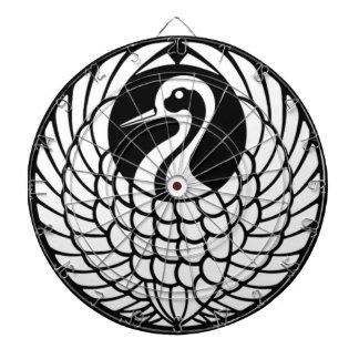 Tsuru Crane dart board