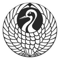 Tsuru Crane sticker