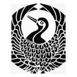 Tsuru-mon Customized Letterhead