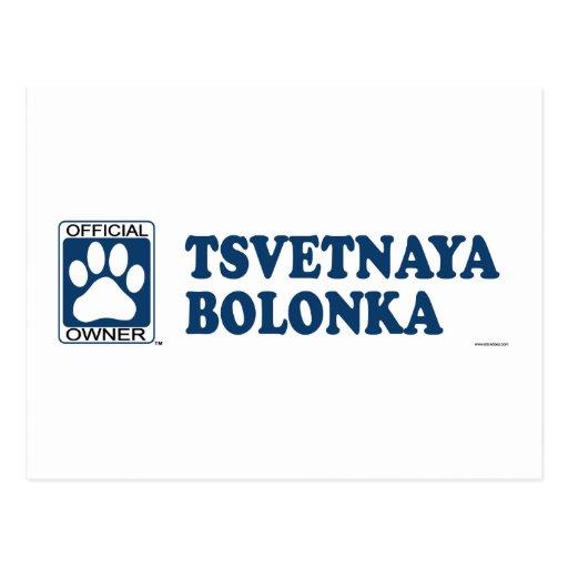 TSVETNAYA BOLONKA_Blue Postal