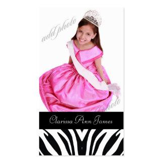 TT-Beauty Pageant Photo Card