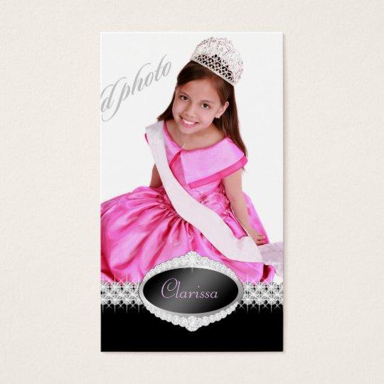 TT-Diamond Bliss Beauty Pageant Photo Card