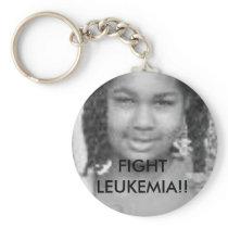 tt FIGHT LEUKEMIA - Customized - Customized Keychain