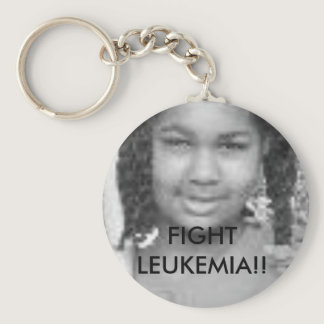tt FIGHT LEUKEMIA - Customized - Customized Keychain