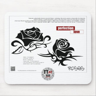 TT Meanings - ROSES Mouse Pad