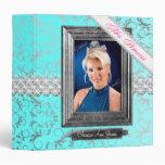 TT-Mrs. Princess Beauty Pageant Binder Ice Blue