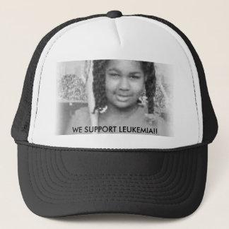 tt, WE SUPPORT LEUKEMIA!! Trucker Hat