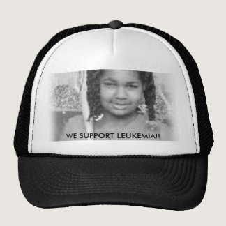 tt, WE SUPPORT LEUKEMIA!! Trucker Hat