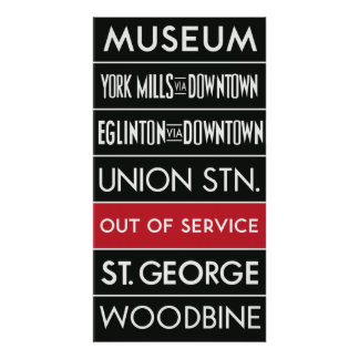 TTC Subway Destination Sign v1