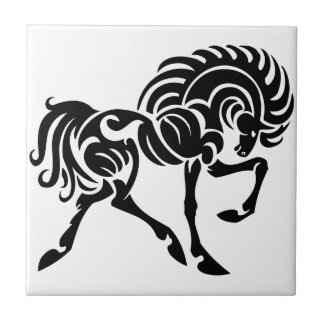 TTH TRIBAL TATTOO HORSE ICONS LOGOS GRAPHICS VECTO TILE