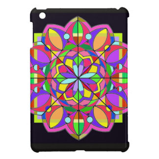 tThe Stained Glass Design Cover For The iPad Mini