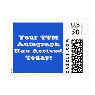 TTM Autograph Postage (White Lettering)