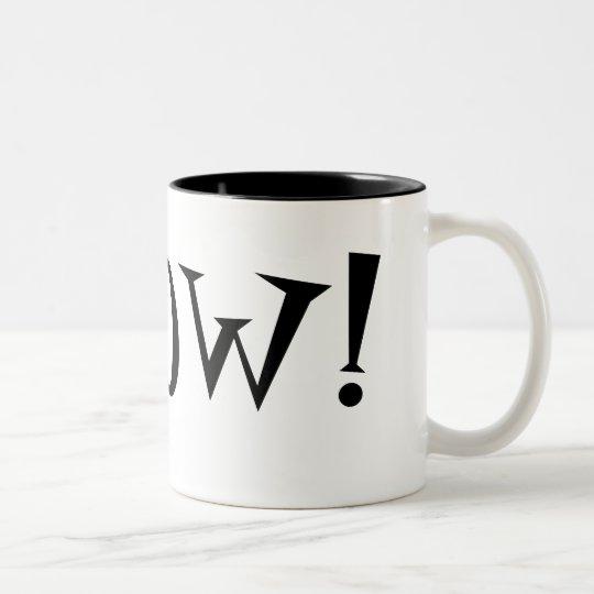 TTOW! Two-Tone COFFEE MUG
