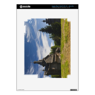 Ttraditional wooden Russian Orthodox church 5 Skins For iPad 3