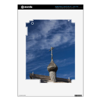Ttraditional wooden Russian Orthodox church Decal For iPad 3
