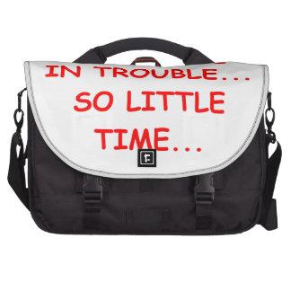 Ttrouble Laptop Bags