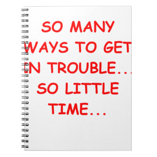 Ttrouble Note Books