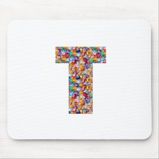 TTT Pearls Gems coated ALPHA T Grand Gifts Mouse Pad