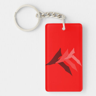 TTT RED KEY KEYCHAIN
