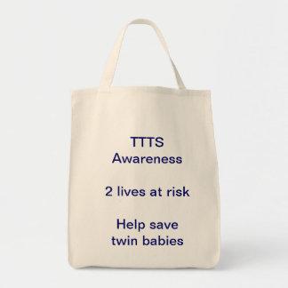 TTTS Awareness Tote Bags