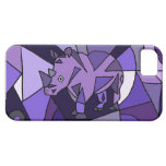 TU- Amazing Rhino Abstract Art Design iPhone 5 Cases