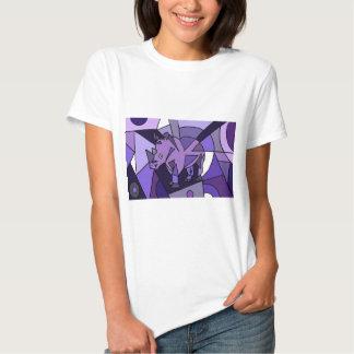 TU- Amazing Rhino Abstract Art Design T Shirt