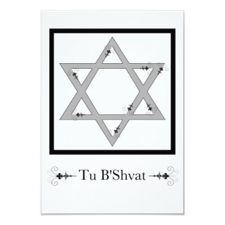 Tu B'Shvat! : star of david floral elegance Card