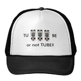 TU - BE or not TUBE Cap Trucker Hat