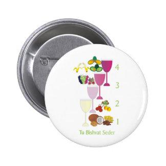 Tu Bishvat Seder Buttons