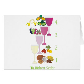 Tu Bishvat Seder Greeting Card