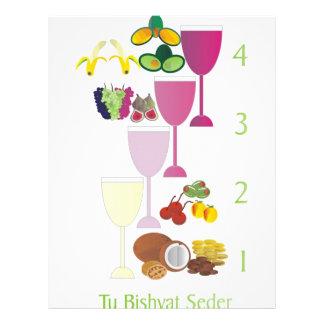 Tu Bishvat Seder Custom Letterhead