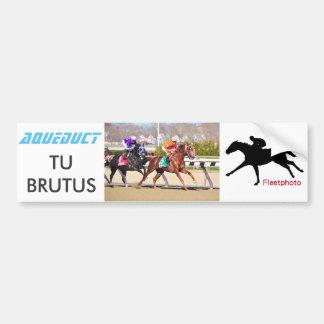 Tu Brutus Bumper Sticker