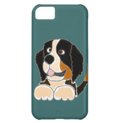 Case-Mate Barely There iPhone 5C Case with Bernese Mountain Dog Phone Cases design
