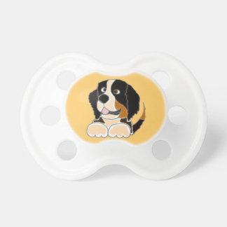 TU- Funny Bernese Mountain Dog Original Art Pacifier