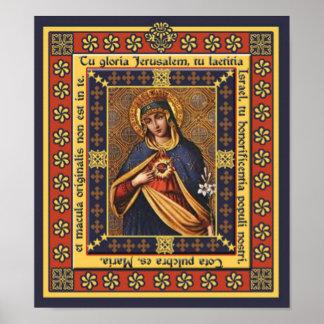 Tu gloria Jerusalem Pictura Print