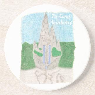 Tu Long Academy (with name_english) Sandstone Coaster